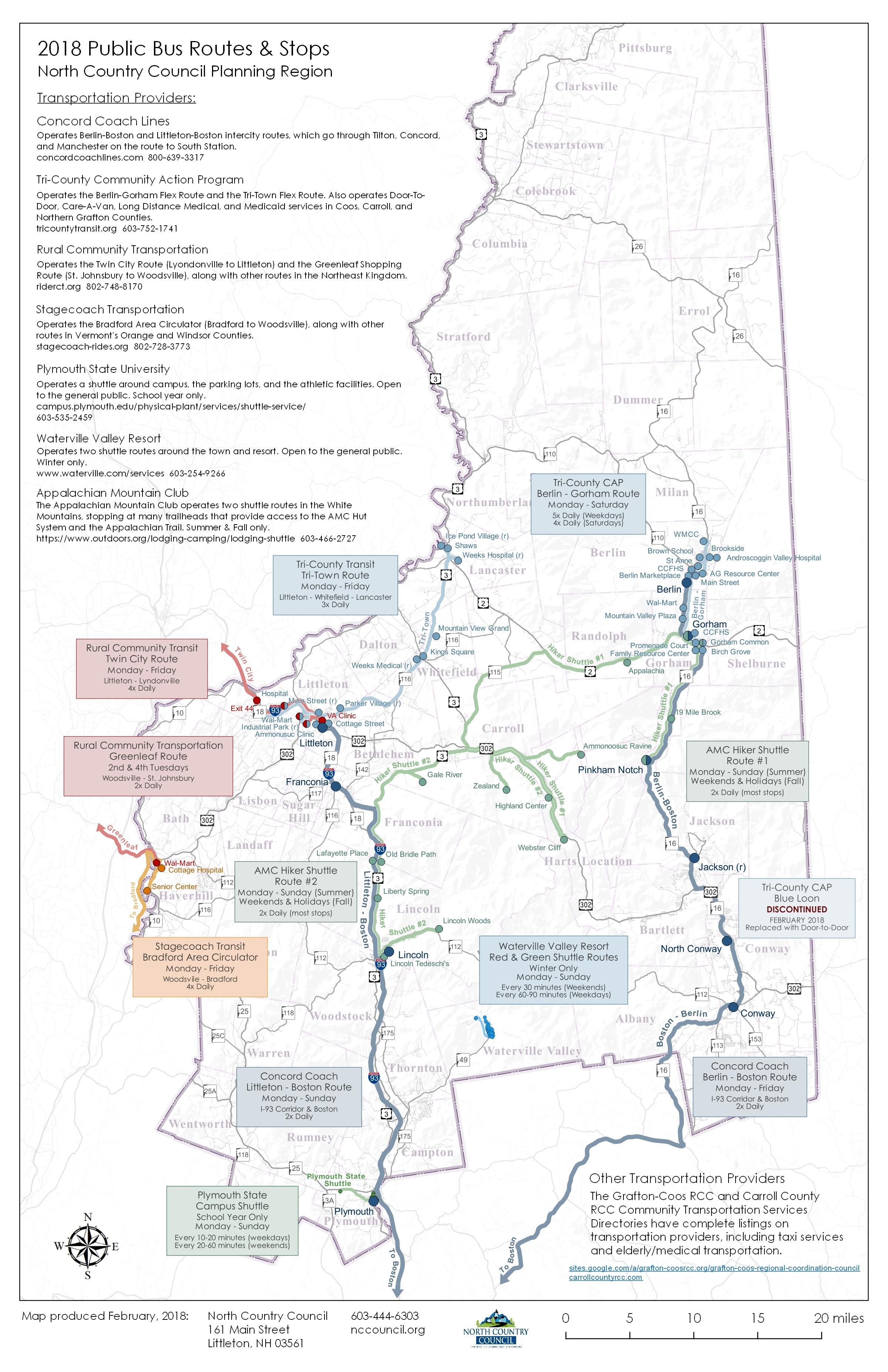 Public Transportation – North Country Council